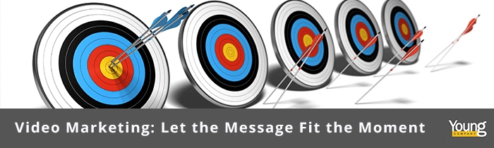Video Marketing: Let the Message Fit the Moment