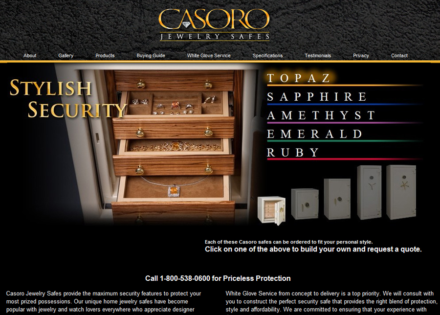 Maximum Security Safe - Website