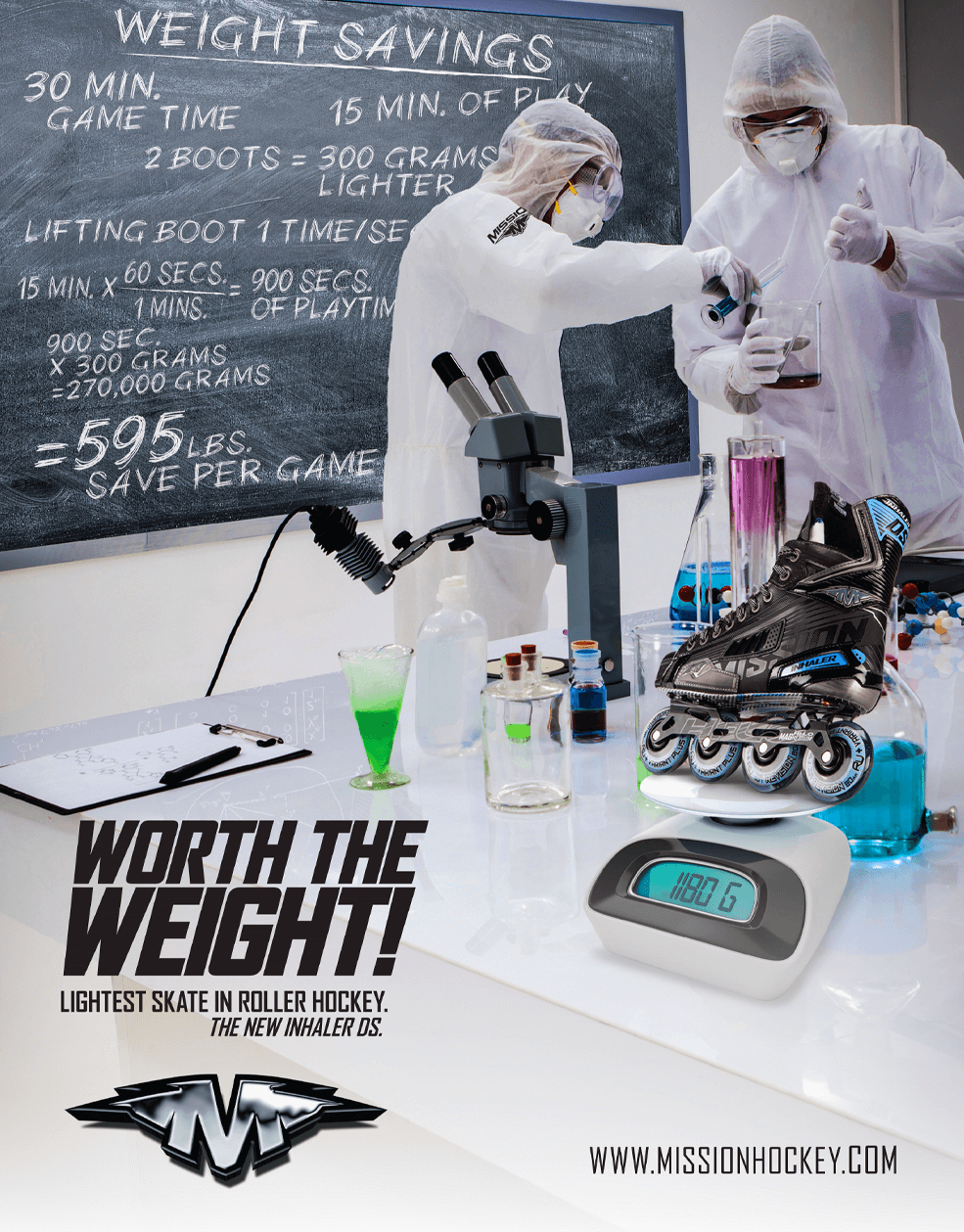 Mission Hockey - Worth the Wait! Magazine Ad