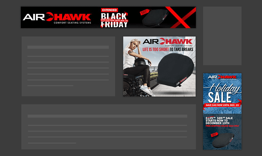 Air Hawk - Display Ads